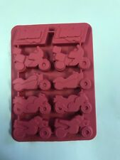 Motorcycle Motorbike Ice Cube Tray Chocolate Mould - Ideal Gift