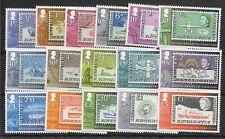 More details for british antarctic terr. sg596/611 2013 stamp anniversary defin set mnh