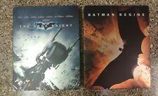 The Dark Knight/Batman Begins Blu Ray Steelbook