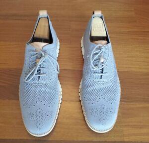 Cole Haan Zerogrand Stitchlite C24944 Wingtip Oxfords Men's 13M Ironstone Shoes