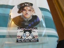 """NO5 MADONNA BYE BYE BABY REMIX DUBPLATE 7"""" PICTURE DISC TEST PRESSING"""