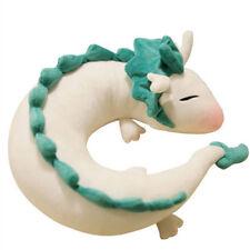 Spirited Away Miyazaki Hayao Haku Cute Doll Plush Toy U-Shape Neck Pillow Soft