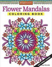 Flower Mandalas Coloring Book by McArdle, Thaneeya -Paperback