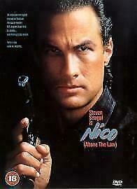 Nico Above The Law DVD 1999 - Stephen Seagal ACTION - REGION 2 UK RELEASE