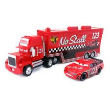 Disney Pixar Car No.123 Mack Racer's Truck & No Stall Toy Car 1:55 Loose New