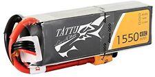Tattu LiPo Battery Pack 1550mAh 14.8V 45C 4S With Xt60 Plug For Rc Car Boat Uav