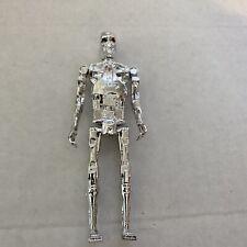 Terminator ReAction Super 7 T800 Endoskeleton Chrome Funko - Retro Figure