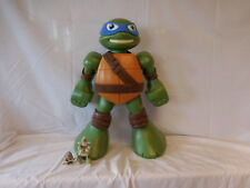 "Teenage Mutant Ninja Turtles Half Shell Heroes Figures Toys Bundle 20"" Storage"