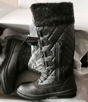 Waterproof Snow Boots LaNeige Canada by Pajar Women's Size 7-7.5 Grey Color NWT