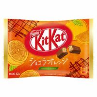 Japanese KitKat Nestle Chocolat Orange 12 mini Bars Japan Limited s0296