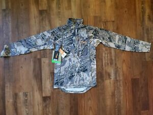 Sitka Core Mid Wt Zip T Optifade Open Country Small drake waterfowl banded