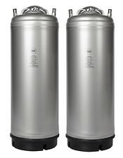 Homebrew - 2 Pack New 5 Gallon Ball Lock Kegs - Pressure Relief - Free Shipping!