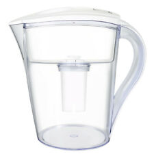 LeDoux Waters 10 Cup Water Pitcher Filters with 1 Filter, Bpa Free (White)