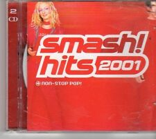 (EU762) Smash! Hits 2001, 43 tracks various artists - 2CDS - 2000 CD