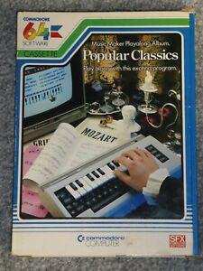 Popular Classics, Music Maker Play along Album for Commodore 64