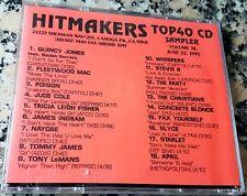 HITMAKERS TOP 40 CD SAMPLER 38 RARE DJ CD 1990 Stevie B Slyce Starlet Jude Cole