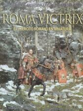 Andrea Press Publications Roma Victrix The Roman Army in miniature,Spanish text