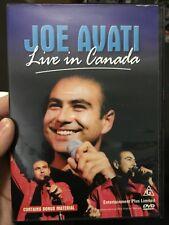Joe Avati - Live In Canada region 4 DVD (stand up comedy)
