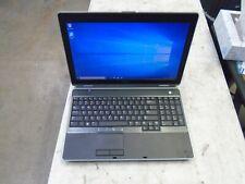 """15.6"""" Dell Latitude E6530 i5-3230M 2.60GHZ 8GB 320GB Windows 10 Pro Notebook"""