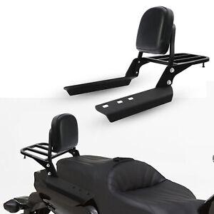 Backrest Sissy Bar W/ Luggage Rack Fit For Honda CTX700 CTX700D CTX700N 14-18