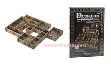 DUNGEON Dungeons & Dragons Terrain Scenery 28 D&D Cardboard Model Kit Basic SET