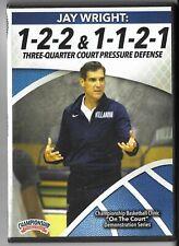 Jay Wright 1-2-2 & 1-2-1-1 Basketball Press Defense DVD Villanova Wildcats Coach
