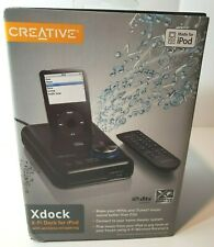 Creative Xdock X-Fi Dock with wireless streaming for iPod, NEW (SB0850)