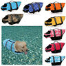 Pet Jackets Life Soft Safe Preserver Summer Outdoor Swimming Dog Vest Clothes