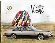 1977 Plymouth Volare' Brochure VGEX 011116jhe