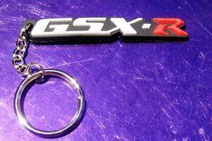 Suzuki GSX-R 3D Soft Rubber Keyring Keychain GSXR 250 600 750 1000 1100