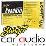 """Stinger Roadkill EXPERT Bulk Kit 9 Pcs 18""""x 32"""" 36sqft Sound Deadening Material"""
