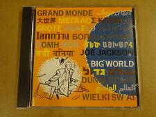CD / JOE JACKSON – BIG WORLD