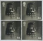 Dr Who Dalek Postage Stamps x4 - MNH - Postage Combined