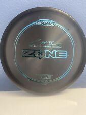 Discraft Paul McBeth 5x Z Zone Black 174g Teal stamp! 🔥brand New
