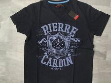 "Tee shirt Pierre CARDIN bleu marine modèle ""Industry"" - Taille L"