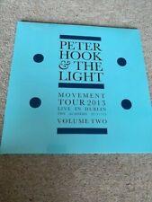 Peter Hook & the Light: Movement 2013 Dublin Vol 2 / New Order / NEW