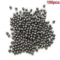 100pcs 0.5g Round Fishing Weight Fishing Sinker Split Lead Shot Sinker Practical