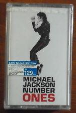 Michael Jackson Number Ones 18 Greatest Hits Thai Cassette Seal  OOP