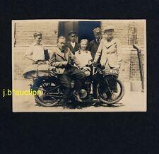 MANN auf MOTORRAD Stiefel /  Motorbike * Privates Foto 1935