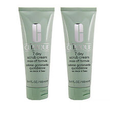 2 PCS Clinique 7 Day Scrub Cream (Rinse-Off Formula) 100ml x2= 200ml #2598_2
