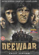 DEEWAAR - AMITABH BACHCHAN - SANJAY DUTT - NEW BOLLYWOOD DVD