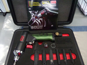 """Might Seven NC-0208 8 Piece 1/4"""" Drive Air Impact Wrench Set NEW IN BOX W/MANUAL"""