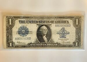 1923 $1 SILVER CERTIFICATE LARGE SIZE NOTE   ON SALE!  (2f)