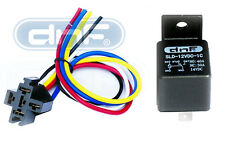 ONE PACK 30/40 AMP RELAY & RELAY HARNESS SPDT 12V BOSCH STYLE - SHIPS FREE TODAY