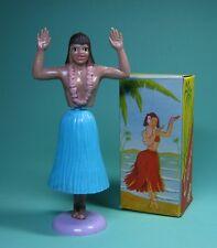 HULA GiRL HAWAiiAN DANCER blau ORiGiNAL 1957 HAWAi TÄNZERiN MIT OVP ANLEITUNG!
