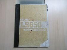 Suzuki LS 650 SAVAGE Handbuch Wartungsanleitung Fahrerhandbuch Servicebuch