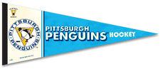 Pittsburgh Penguins Vintage NHL 1967-68 Style Premium Felt Collectors PENNANT