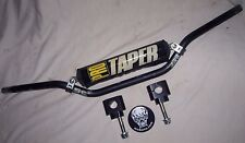 """PRO TAPER SE HANDLEBARS 7/8 BAR MOUNT CLAMP KIT STANDARD SIZED 7/8"""" (22mm) BAR"""