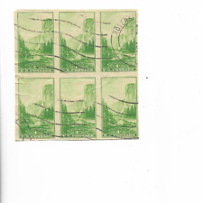 1935-STAMPS-#756-IMPERF-NATIONAL PARKS-YOSEMITE