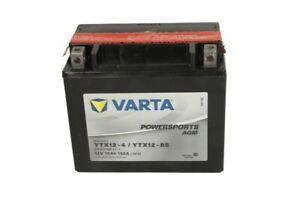 YTX12-BS YUASA BATTERIA MOTO YTX12-BS VARTA 12V 10 A  AGM TECNOLOGY